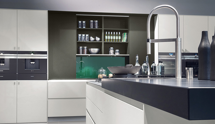 German pronorm kitchen black
